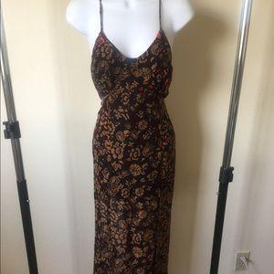 For love & lemons Morocco velvet maxi dress